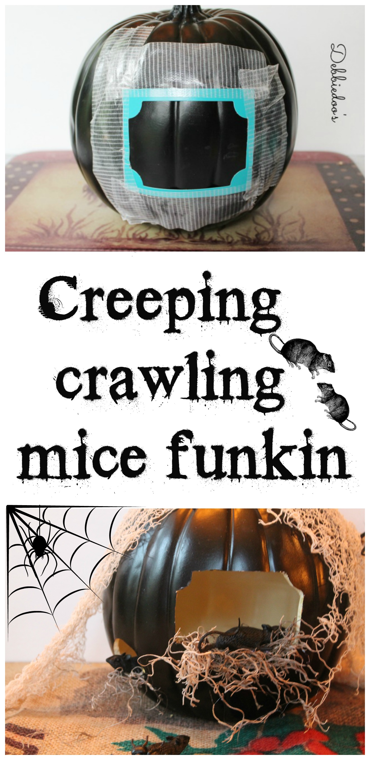 How to make a creeper funkin with mice