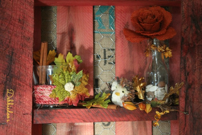 fall-pallet-003 Dyed sisal rope and dollar tree votives