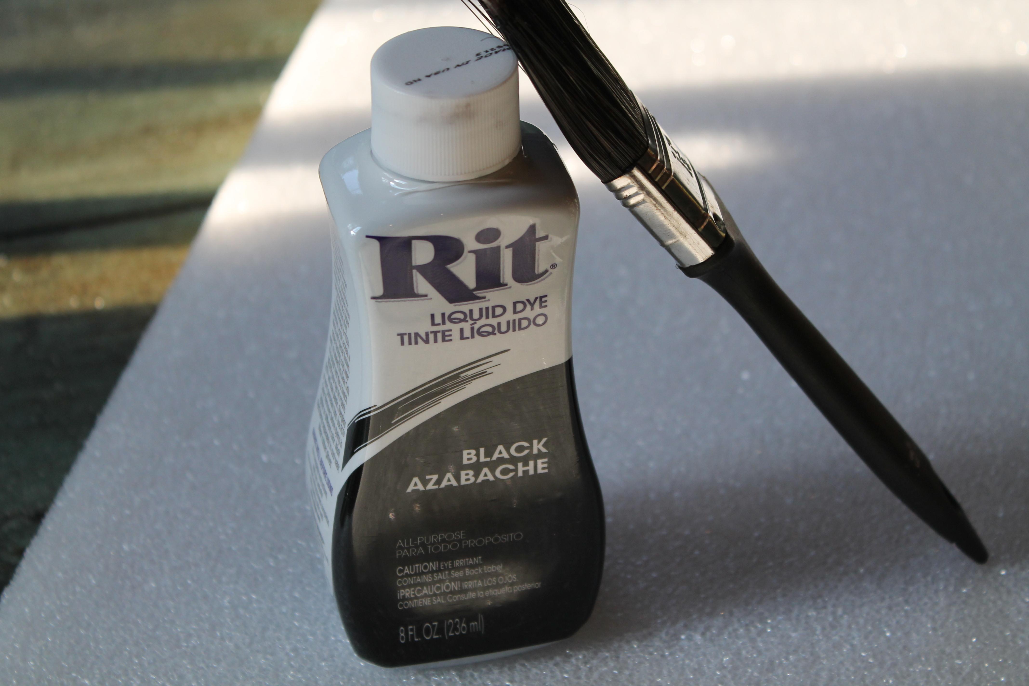 Black rit dye