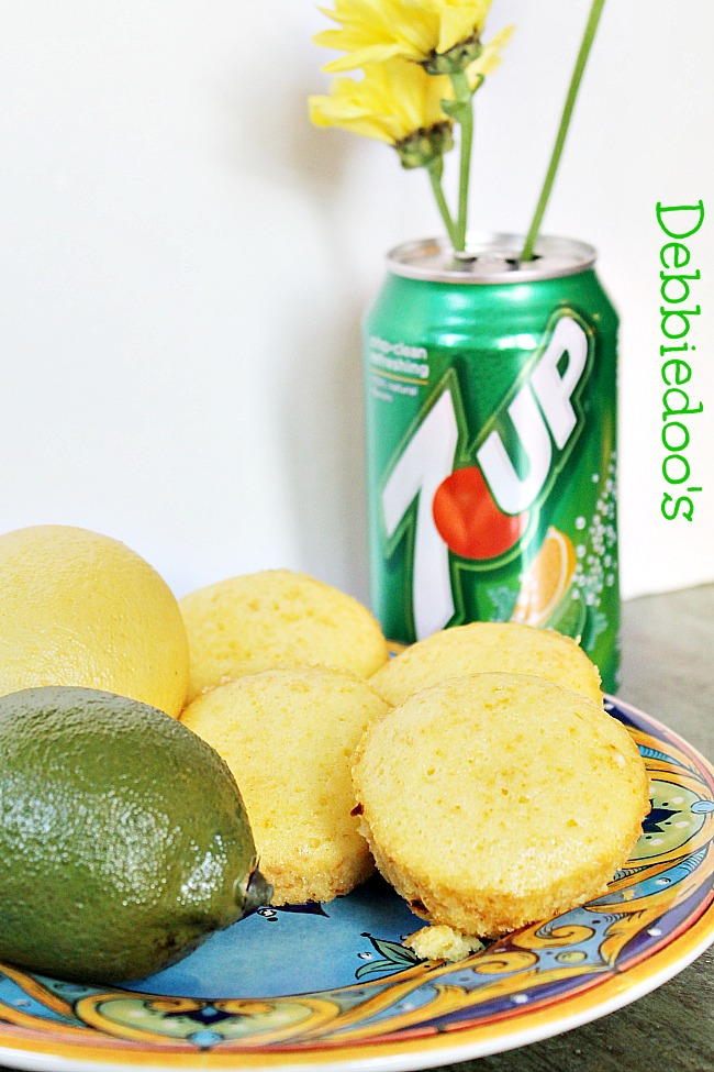 7 UP lemon cupcakes