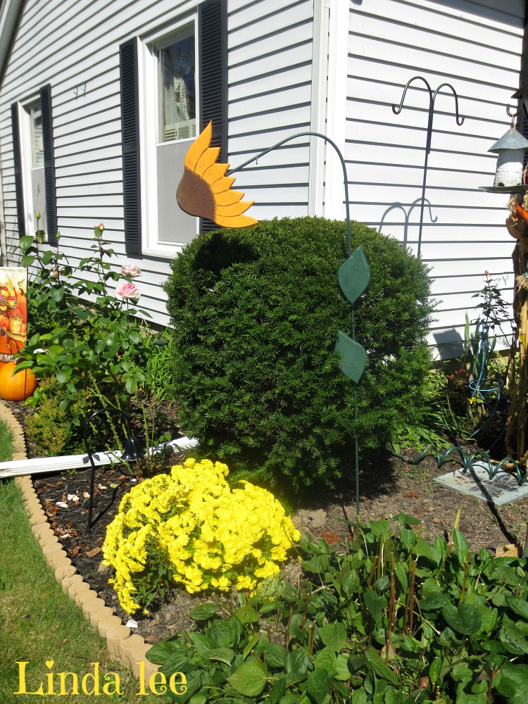 sunflower lawn ornaments