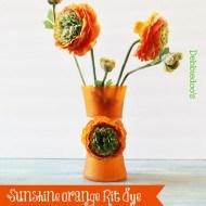 sunshine-orange-vase-with-Rit-dye-beauty-shot