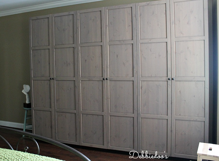 Closet solutions by Ikea Pax