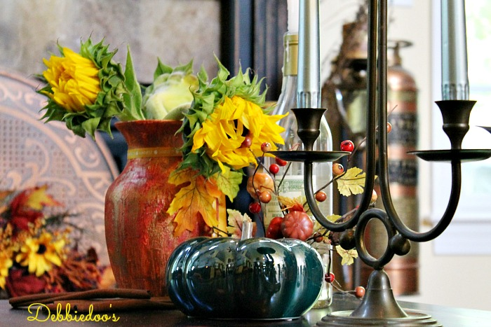 vase and Halloween art 082
