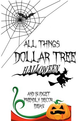 All things dollar tree Halloween
