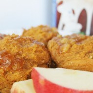 Apple Spice pumpkin muffins