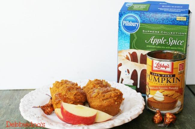 apple cinnamon muffins with pumpkin 007
