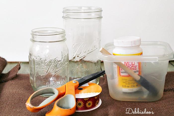 mason jars for fall