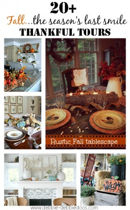 Thankful fall series of homes