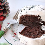 It's really good, really delicious chocolate cake