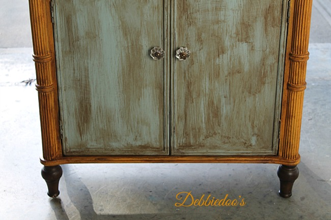furniture painted with chalk paint by DecoAmericana 013