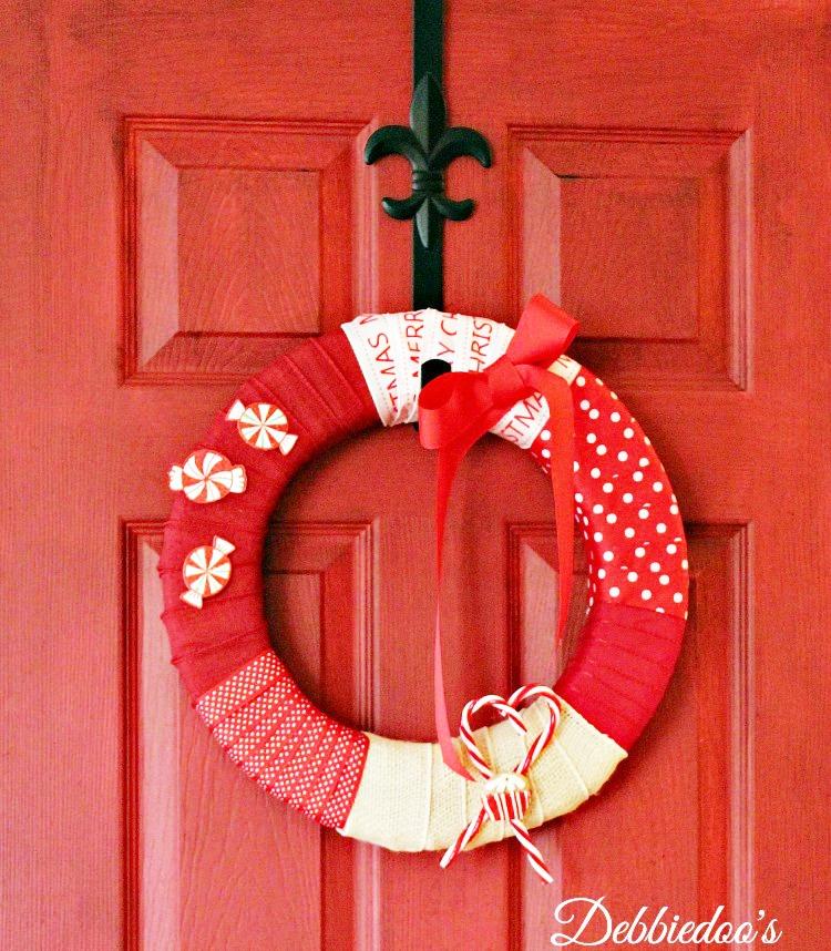 How To Make A Ribbon Wreath Debbiedoos