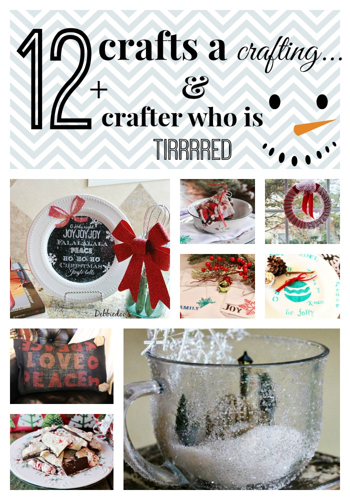 12 crafts a crafting #christmas #crafts #budget friendly ideas for the #holiday season