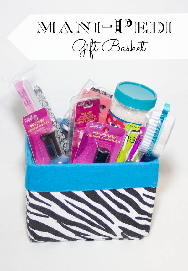 Diy Manicure Pedicure Spa Basket Debbiedoos