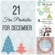 20+ Printables for December