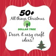 All things Dollar tree Christmas party