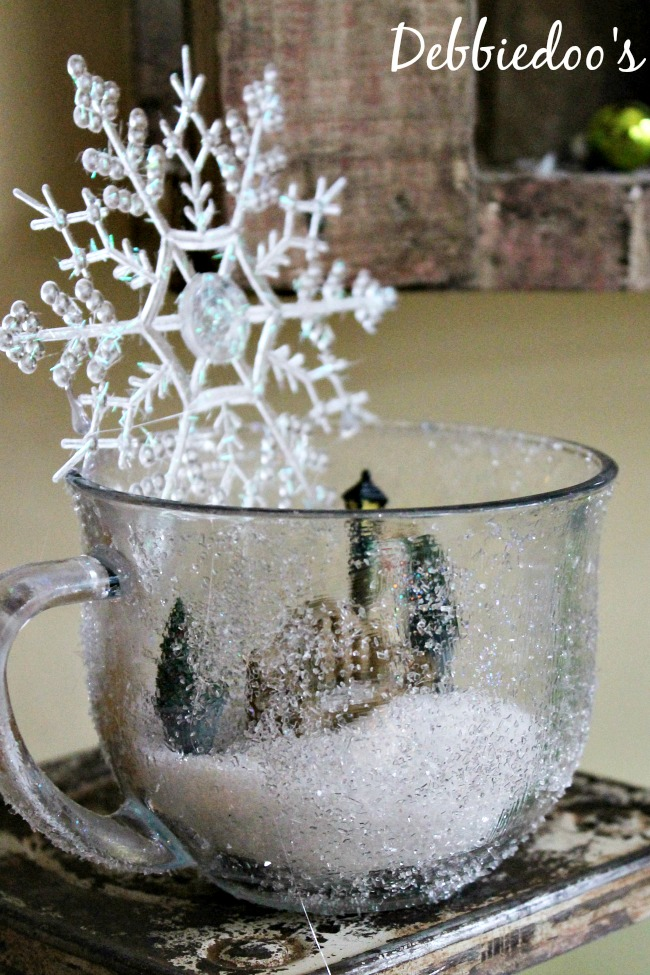 diy frost mug