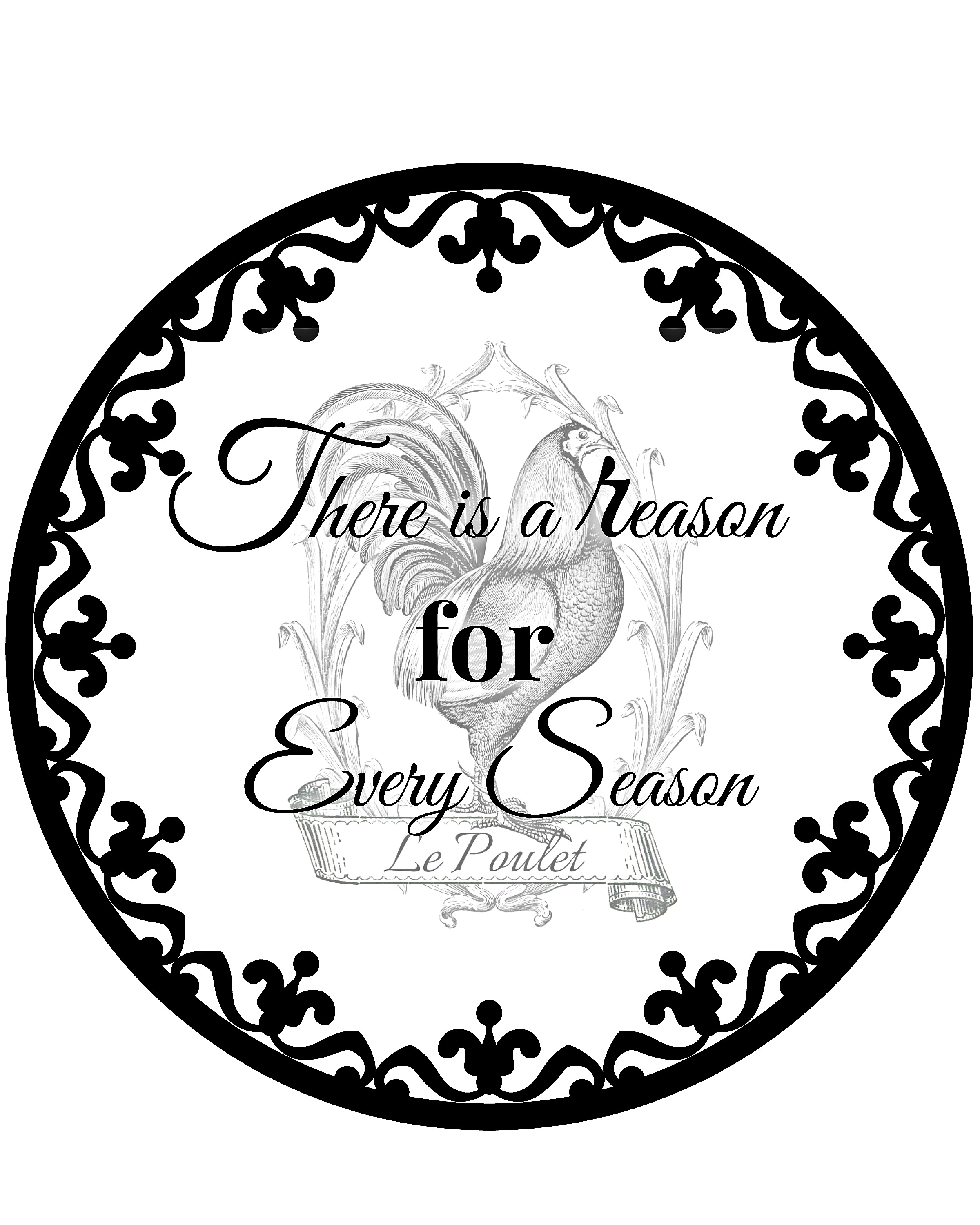 There is a reason for every season