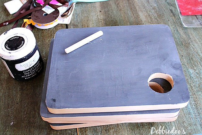chalkboard cutting boards personalized 002