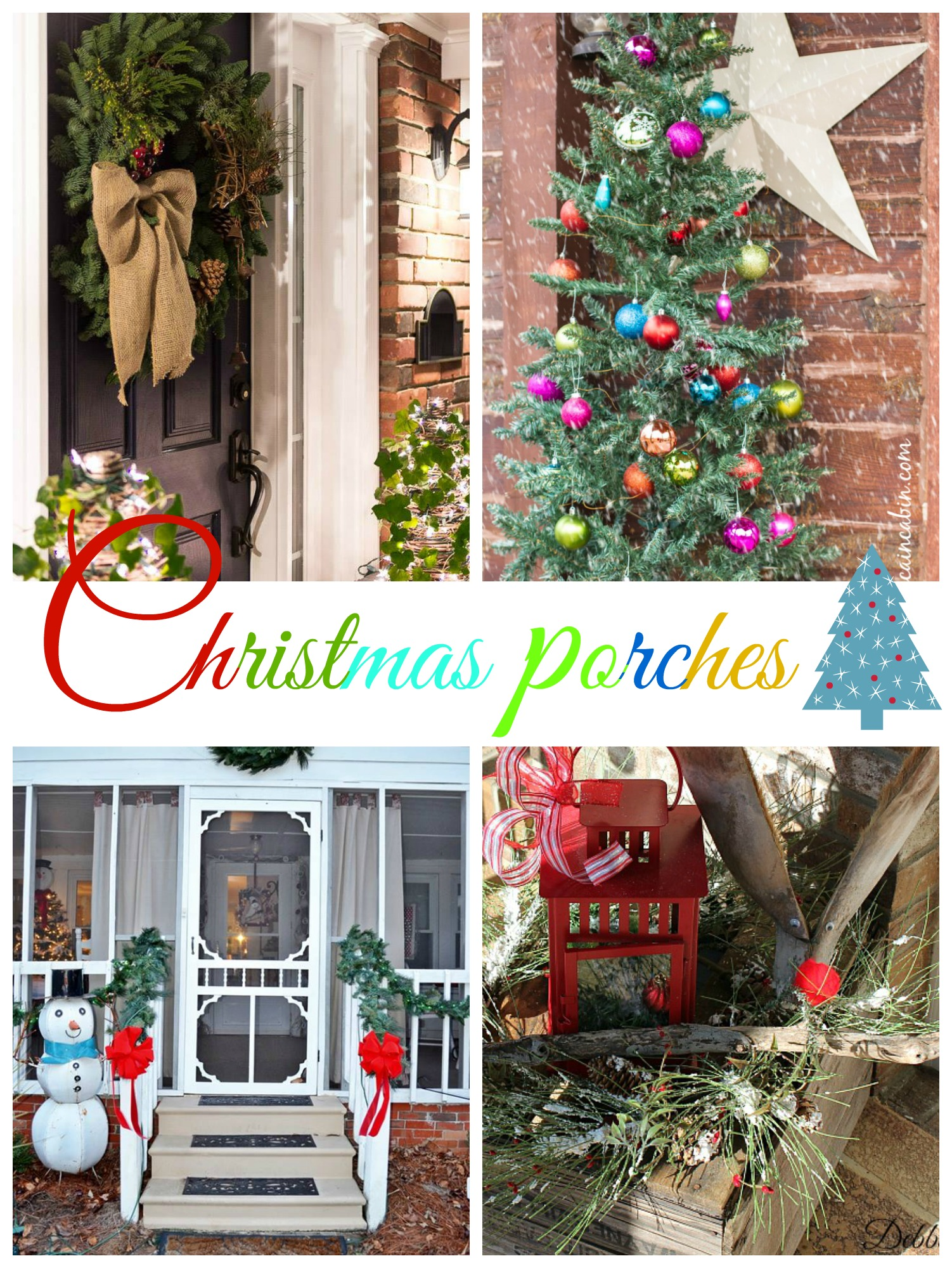 christmas porches