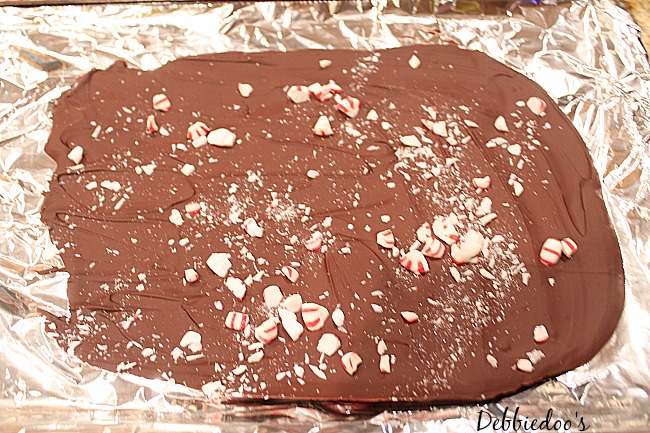 home made peppermint bark 004