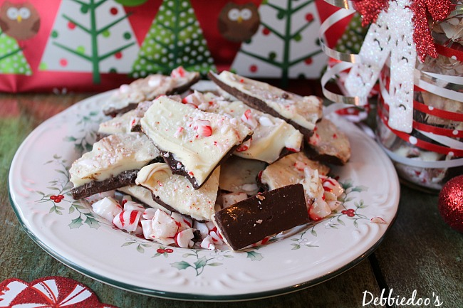home made peppermint bark 011