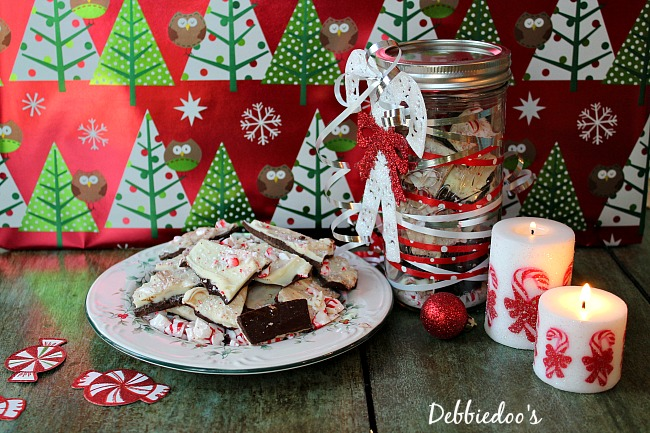 home made peppermint bark 019