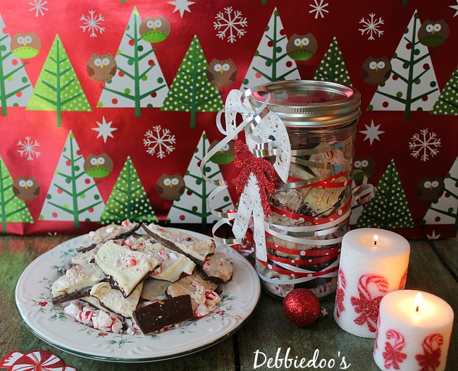 home made peppermint bark 020