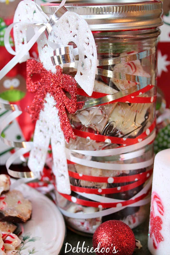 home made peppermint bark 030
