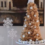 living room-Christmas-coffee filter tree-stonegableblog.com