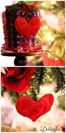 Dollar tree Valentines decor