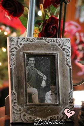 Family room vignettes for V-day