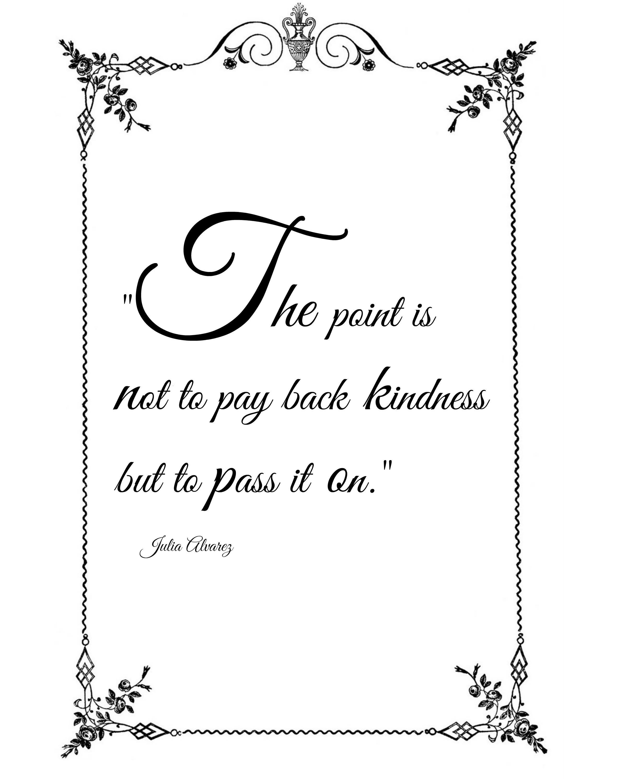Kindness forward free printable