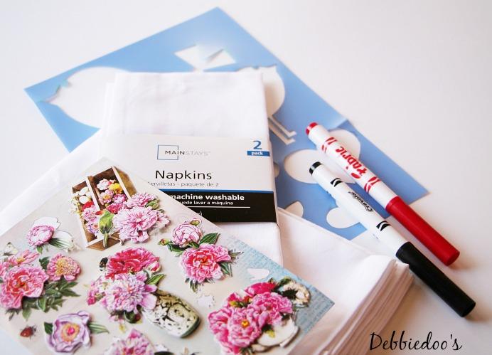 diy valentine napkins