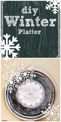 diy winter platter