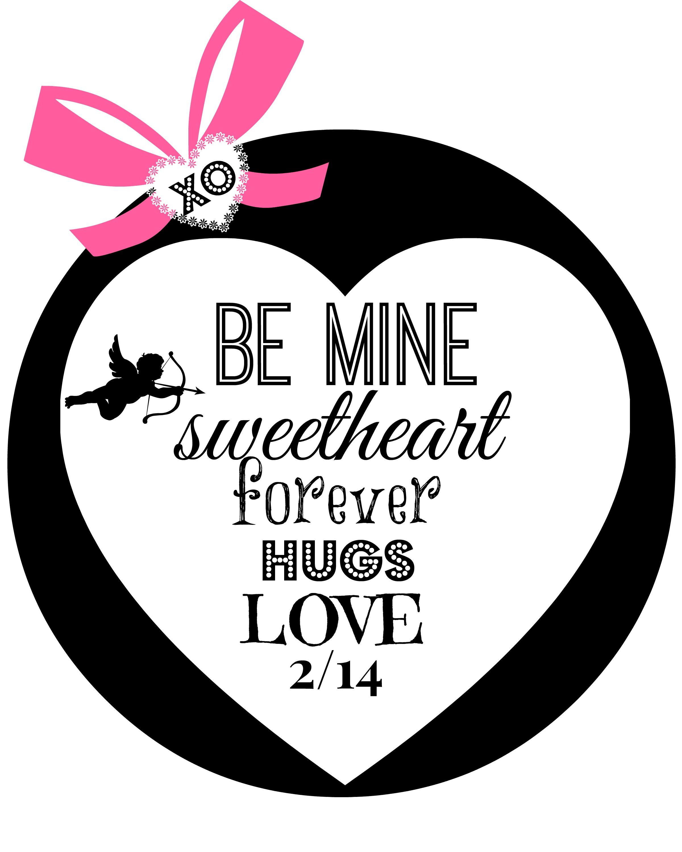 valentine love printable