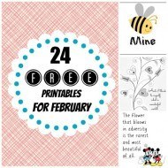 20+ Free printables for February