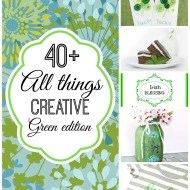 All things creative green edition