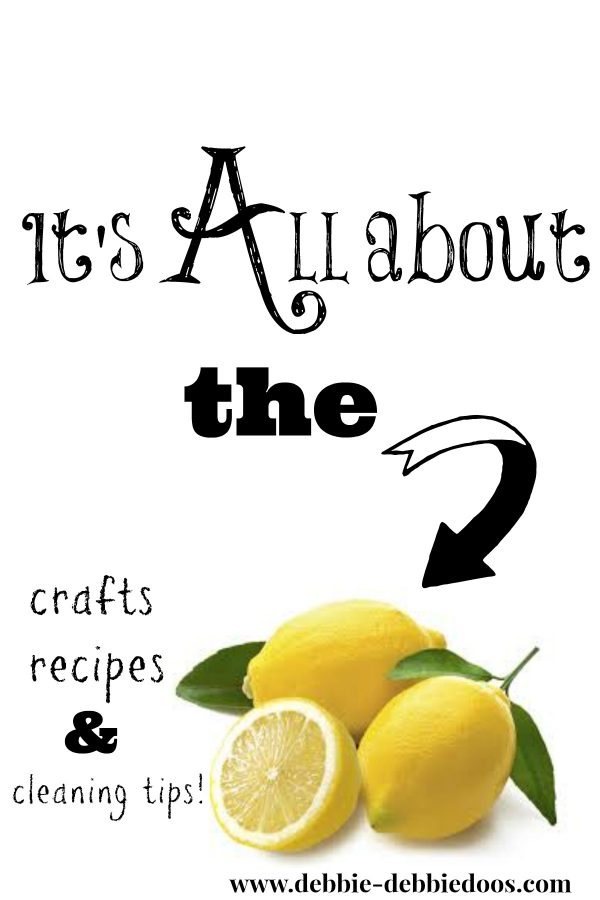 It's all about the lemon