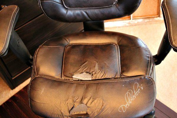 beat up chair redo