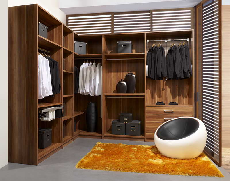 Closet-Systems-Ikea-Rug-With-Yellow-Color
