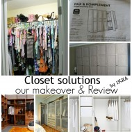 Closet makeover review By #IKEA