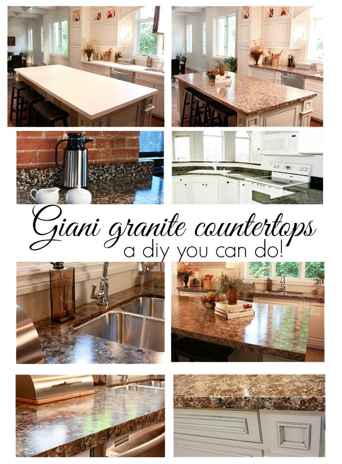Giani granite paint for counter tops debbiedoos for Giani granite
