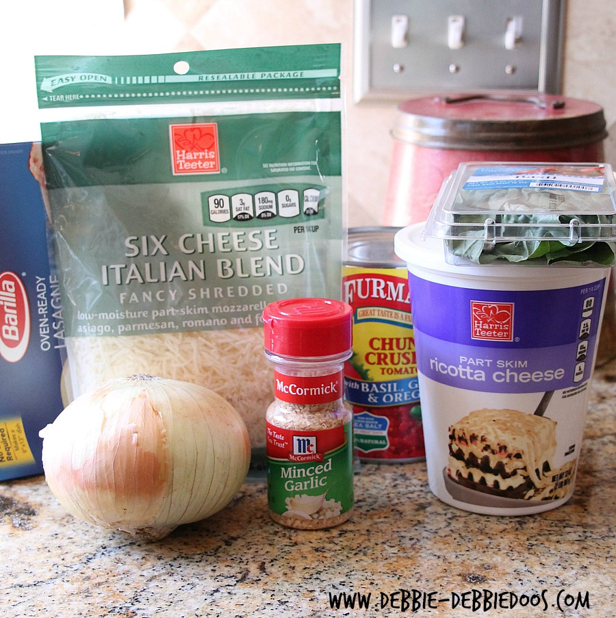How to make crockpot lasagna