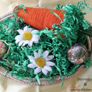Spring craft ideas with foam and rit dye