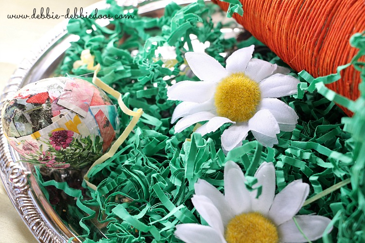 Spring craft ideas with mod podge