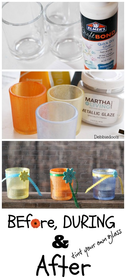 Tint your own glass with rit dye