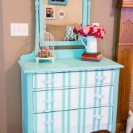 Turquoise-Striped-Dresser-424x640