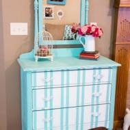 Turquoise-Striped-Dresser-424x640