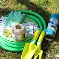 garden-hose-wreath-spray-painted